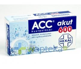 ACC 600 tabletki musujace 600mg 20 sztuk