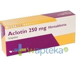 Aclotin tabletki powlekane 250mg 20 sztuk