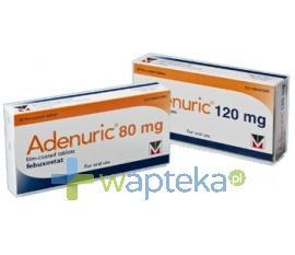 Adenuric 80mg tabletki powlekane 28 sztuk