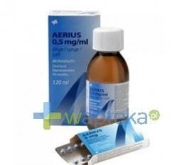 Aerius 0,5mg/ml roztwór doustny 60ml