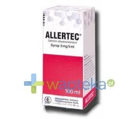 Allertec (5 mg / 5 ml) syrop 100 ml