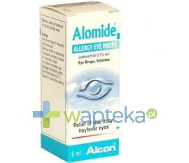 Alomide 0,1% krople do oczu 5 ml
