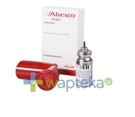 Alvesco 80 aerozol wziewny (80 mcg / dawkę) 120 dawek