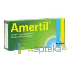 Amertil tabletki powlekane 10 mg 20 sztuk