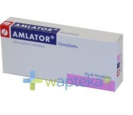 Amlator 10 mg+ 5 mg tabletki powlekane 30 sztuk