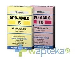 Apo-Amlo 5 tabletki 5mg 30 sztuk