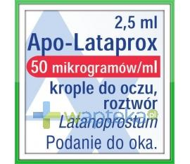 Apo-Lataprox 0,05mg/ml krople do oczu 2,5ml