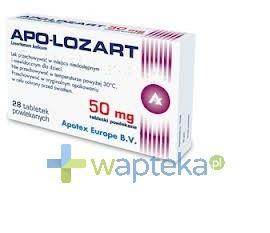 Apo-Lozart 50mg tabletki powlekane 28 sztuk