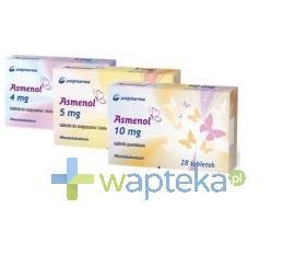 Asmenol 10 mg tabletki powlekane 28 sztuk