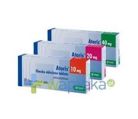 Atoris 40 mg tabletki powlekane 60 sztuk