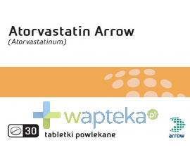 Atorvastatin Arrow 20mg 30 tabletek