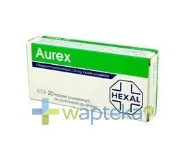 Aurex 40 tabletki powlekane 40 mg 20 sztuk