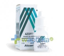 Azopt 1% (10 mg / ml) krople do oczu 5 ml