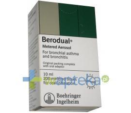 Berodual roztwór do nebulizacji 20 ml