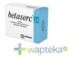 Betaserc 24 mg tabletki 60 sztuk