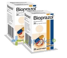 Bioprazol kapsułki twarde 20 mg 14 sztuk