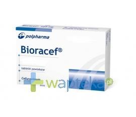 Bioracef 500 mg tabletki powlekane 10 sztuk