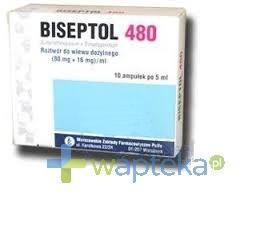 Biseptol 480 tabletki 20 sztuk