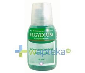 ELGYDIUM Płyn z fluorem do płukania ust 200 ml - Data ważności 31-08-2017