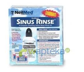 SINUS RINSE KIT Zestaw Podstawowy Do Płukania Nosa I Zatok Dla Dorosłych