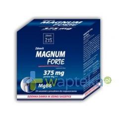 Zdrovit Magnum Forte 375 20 saszetek
