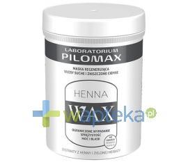 Pilomax WAX HENNA Maska do włosów zniszczonych ciemnych 480g 9248