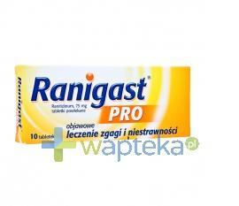 Ranigast Pro 75mg 10 tabletek