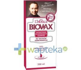BIOVAX Szampon intensywnie regenerujący włosy farbowane 200ml