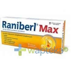 Raniberl Max 10 tabletek