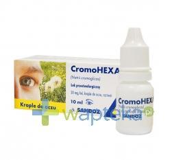 Cromohexal krople do oczu 0,02 g/1ml 10ml