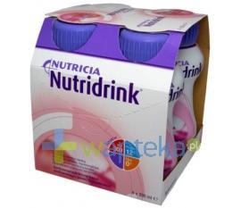 Nutridrink smak truskawkowy płyn 4 x 200 ml