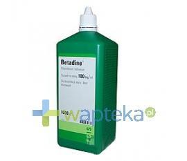 Betadine roztwór na skórę 1 litr