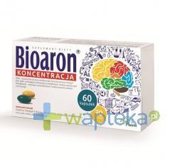 Bioaron Koncentracja 60 kapsułek
