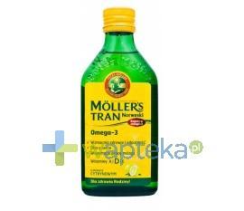 MOLLERS Tran Norweski cytrynowy płyn 500ml