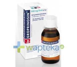 Groprinosin syrop 0,05g 120 ml