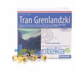 Tran Grenlandzki 80 kapsułek