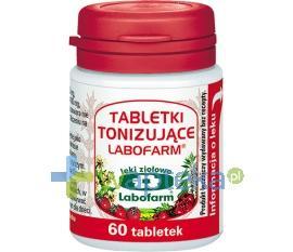 Labofarm Tabletki Tonizujące 60 sztuk
