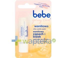 Bebe Young Care Pomadka ochronna Waniliowa 4,9g