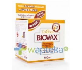 BIOVAX Maseczka Intensywnie Regenerująca do włosów suchych i zniszczonych 500ml