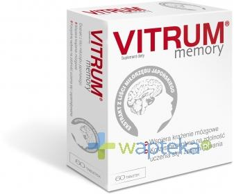 Vitrum Memory 60 tabletek