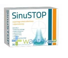 SinuSTOP 30 tabletek - NIELOT
