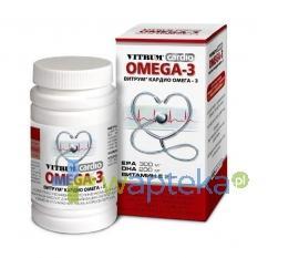 Vitrum Cardio Omega-3 30 kapsułek