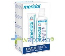 MERIDOL Zestaw płyn 400 ml + pasta 75 ml