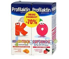 Profilaktin Odporność syrop 115 ml + Profilaktin Koncentracja 115 ml