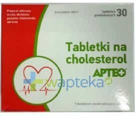 Tabletki na cholesterol APTEO 30 sztuk