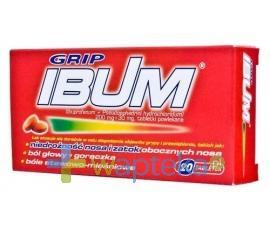 IBUM GRIP 20 tabletek USTAWA!