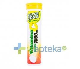 Witamina C 1000 mg CEWITAN smak pomarańczowy 15 sztuk