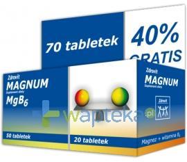 Zdrovit Magnum i witamina B6 70 tabletek