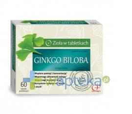 Colfarm Ginkgo Biloba 60 tabletek