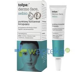 Tołpa Dermo Face Sebio punktowy koncentrat korygujący niedoskonałości 10 ml